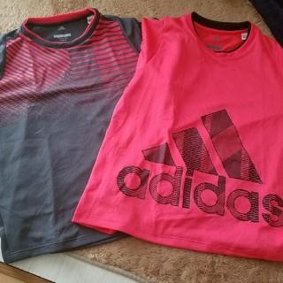 adidas - adidas150ドライシャツ二枚組