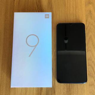 Xiaomi Mi 9 6GB/64GB ピアノブラック グローバルバージョン