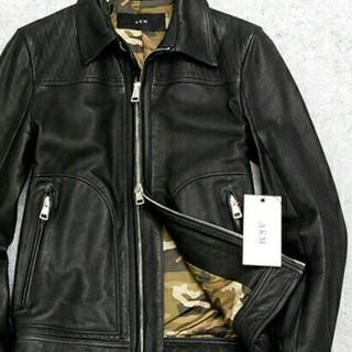 AKM - AKM 上質 牛革 レザージャケット