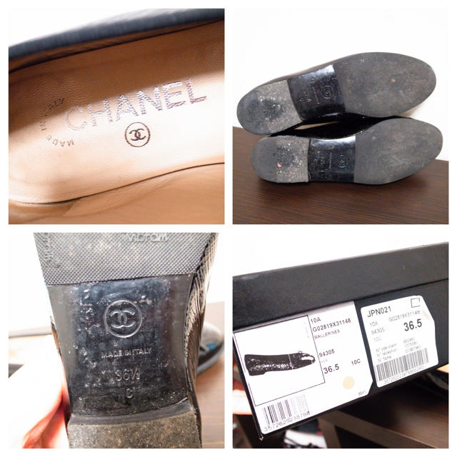 9efe73fcd15d CHANEL - 美品♡シャネル バレエシューズ 靴 黒の通販 by incontro ...