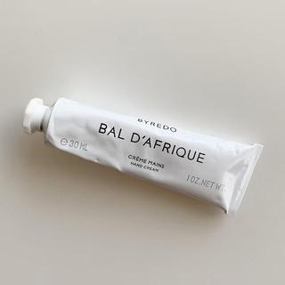 BYREDO BAL D'AFRIQUE ハンドクリーム 30ml 新品
