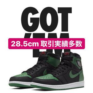 ナイキ(NIKE)のAJ1 pine green ナイキ Jordan 1 high (スニーカー)