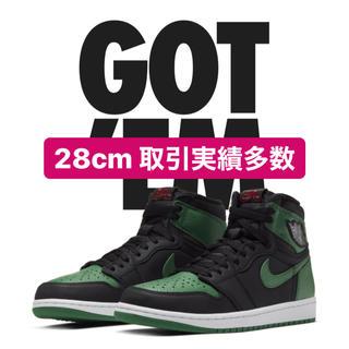 ナイキ(NIKE)のAJ1 pine green ナイキ Jordan 1 high 専用(スニーカー)