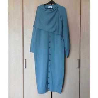 ENFOLD - RIM.ARK/Cross arrange long knit op