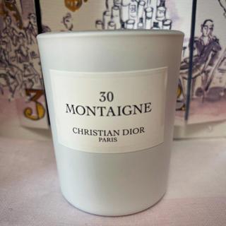 クリスチャンディオール(Christian Dior)のメゾンクリスチャンディオール  ディオール 30 モンテーニュ キャンドル 新品(キャンドル)
