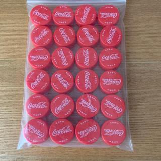 コカコーラ(コカ・コーラ)のコカ・コーラ 赤ペットボトルキャップ24個です(各種パーツ)