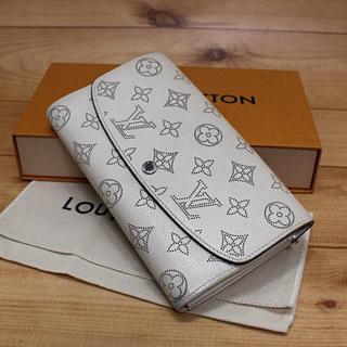 LOUIS VUITTON - 正規品【良品】LOUIS VUITTON マヒナ 長財布