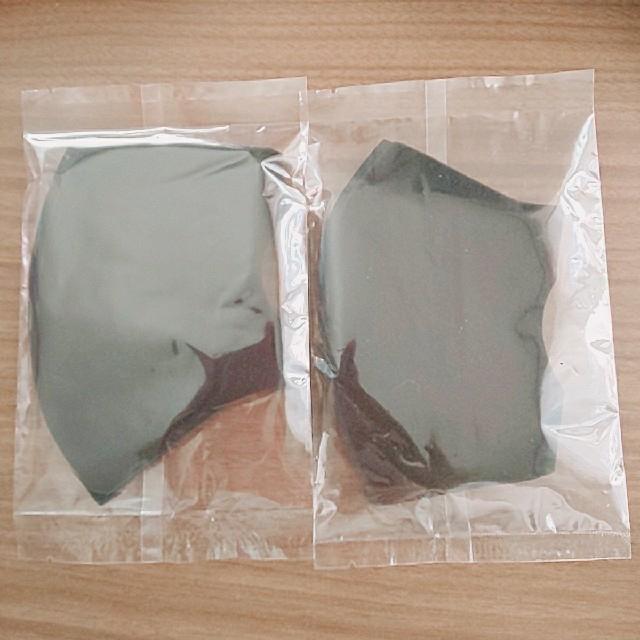 マスク 個 包装 - 洗えるマスク マスク 2枚 レギュラーサイズの通販 by りん's shop