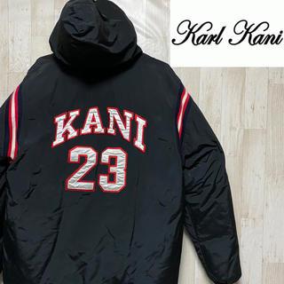 Karl Kani - 【カールカナイ】ダウンジャケット/刺繍ロゴ/ビッグロゴ