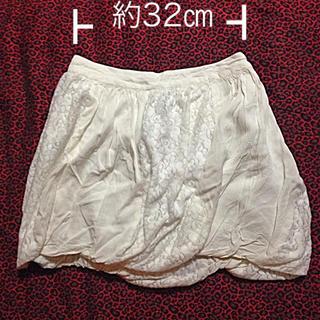 アルゴンキン(ALGONQUINS)のNO.28 アルゴンキンのバルーンスカート(ミニスカート)