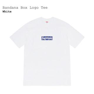 Supreme - Bandana Box Logo Tee L White 白 supreme新品