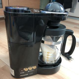 Panasonic - Panasonic NC-S35P-K ミル付きコーヒーメーカー