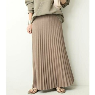 DEUXIEME CLASSE - 新品■beauty pleated スカート■ブラウン38■ドゥーズィエムクラス