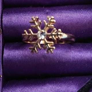 ファッション リング ゴールドカラー 17号(リング(指輪))