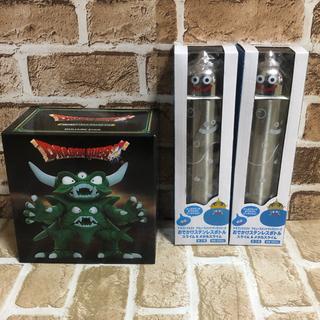 スクウェアエニックス(SQUARE ENIX)のスライムボトル ステンレスボトル ドラゴンクエスト フィギュア付き(ゲームキャラクター)