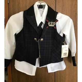 110サイズ アイドル風 ジャケット、スカートセット
