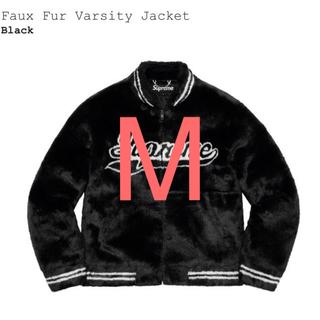 Supreme - Mサイズ Faux Fur Varsity Jacket