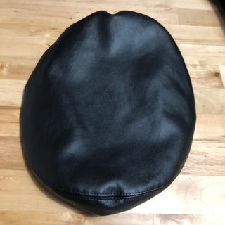 moussy - moussyレザーベレー帽