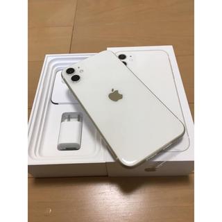 iPhone - iPhone11 128GB ホワイト SIMフリー 新品未使用