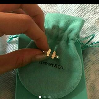 Tiffany & Co. - ティファニー Tスクエアリング 8号