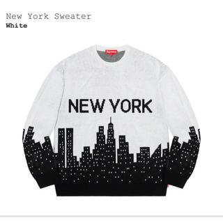 Supreme - Supreme New York Sweater ホワイト Small