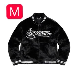 シュプリーム(Supreme)のSupreme 20SS Faux Fur Varsity Jacket M(毛皮/ファーコート)