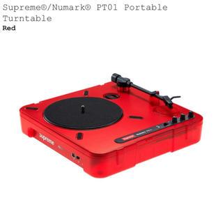 シュプリーム(Supreme)のSupreme®/Numark® PT01 ターンテーブル2台(ターンテーブル)