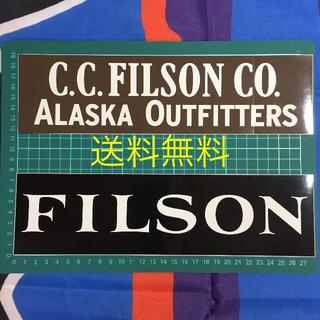 FILSON - 送料無料 FILSON STICKER 2枚 フィルソン ステッカー シール
