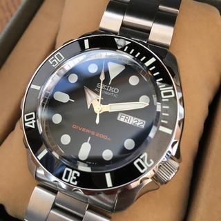 セイコー(SEIKO)の専用品‼️ セイコーダイバー SKX007 ブラックボーイ MOD カスタム(腕時計(アナログ))