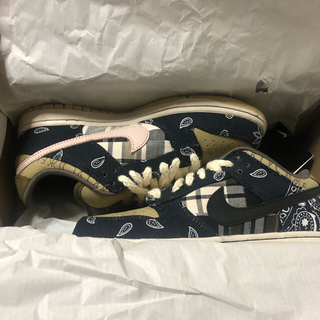 NIKE - 25.5cm Travis Scott Nike SB Dunk Low PRM