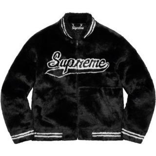 シュプリーム(Supreme)のM Faux Fur Varsity Jacket(毛皮/ファーコート)