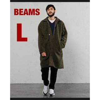 BEAMS - BEAMS LIGHTS / リバーシブル ボア ステンカラーコート
