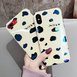 iPhone11 milk 可愛い スマホカバー
