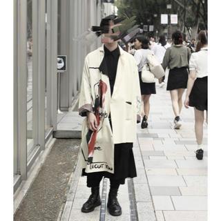 Yohji Yamamoto - 17SS YOHJI YAMAMOTO POUR HOMME デッサンコート