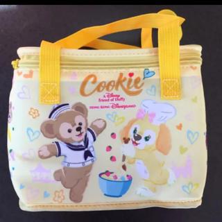 ダッフィー - 新品未使用香港ディズニーランドクッキーアン保冷バッグランチバッグダッフィー