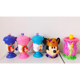 Disney - ディズニーオンアイス ディズニー おもちゃ カップ コップ おままごと アナ雪