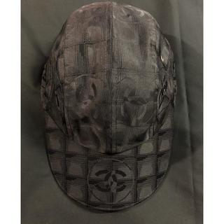 CHANEL - シャネル CHANEL   ニュートラベルライン キャップ 帽子 ナイロン
