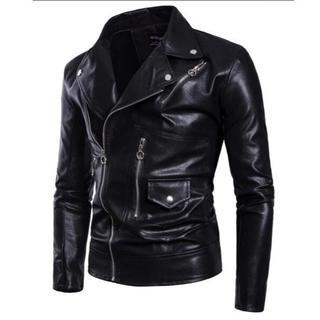 レザー ジャケット メンズ ショートコート 紳士 サイズ選択可