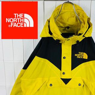 THE NORTH FACE - ノースフェイス レアカラー ゆるだぼ 90s ハーフジップ マウンテン パーカー