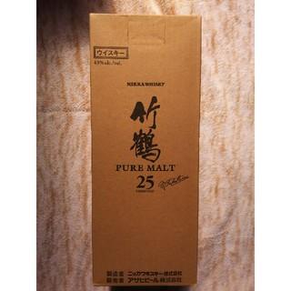 ニッカウヰスキー - ★竹鶴25年 外箱未開封品