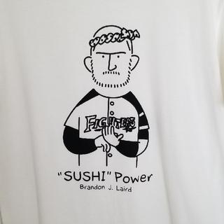 ホッカイドウニホンハムファイターズ(北海道日本ハムファイターズ)の日本ハムファイターズ レアード すしTシャツ M(応援グッズ)