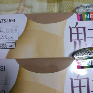 アツギ(Atsugi)のアスティーグ ストッキング 魅 オールスルー ブラック M-L(1足)(フットケア)