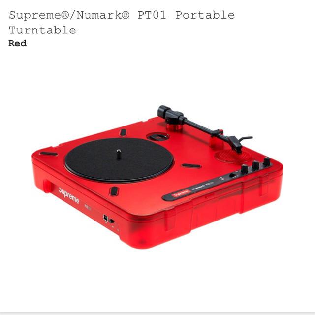 Supreme(シュプリーム)の新品  supreme numark ターンテーブル 楽器のDJ機器(ターンテーブル)の商品写真