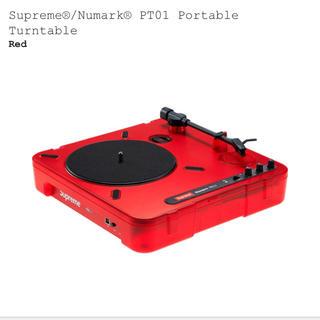 シュプリーム(Supreme)の新品  supreme numark ターンテーブル(ターンテーブル)