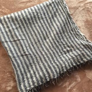 ネストローブ(nest Robe)のnest Robe ネストローブ カシミヤ100% ストール ストライプ(ストール/パシュミナ)
