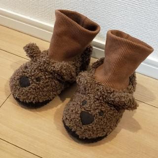 ベビーギャップ(babyGAP)のベビー サンダル 14cm ブーツ クマ ルームシューズ ビームス カープ(ブーツ)