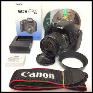 Canon - CANON EOS Kiss X4 レンズフード付