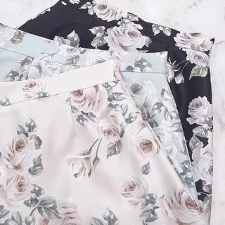evelyn - エブリン 花柄 スカート