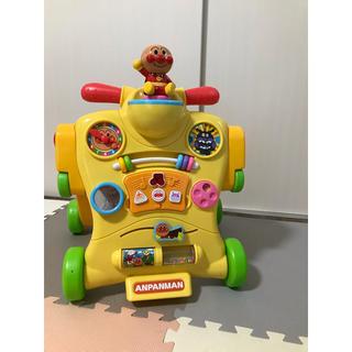 アガツマ(Agatsuma)の箱あり アンパンマン乗って!押して!へんしんウォーカー(知育玩具)