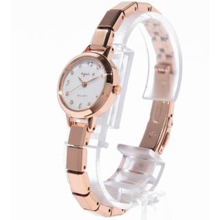 アニエスベー(agnes b.)のアニエスベー ソーラー腕時計 agnes b. Marccello レディース(腕時計)